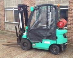 2007 Mitsubishi RG15N Counterbalanced LPG Forklift for Sale