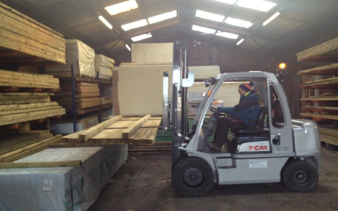 New Counterbalanced Fork Truck for W Mundy